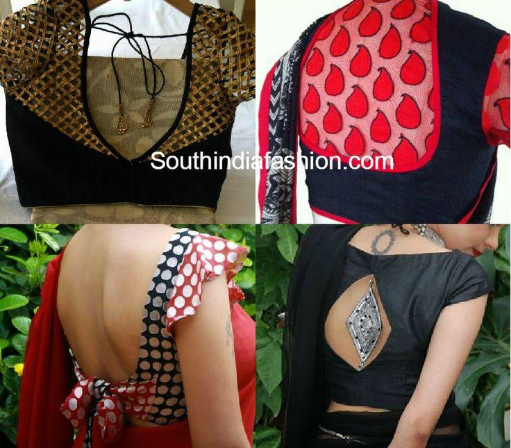 latest stylish blouse designs