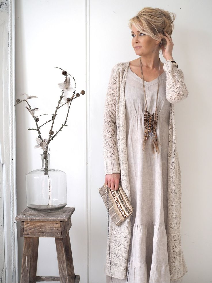 CARMEL Long Cardigan, CHALK - ODD MOLLY - BYPIAS