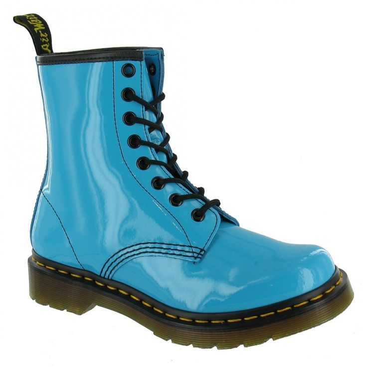 Dr. Martens 1460 boot in aqua blue. Love this colour
