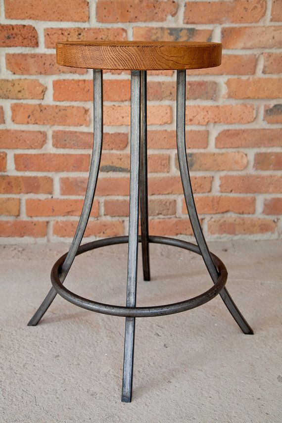 Vintage Industrial Lamp Table by KORNIK on Etsy