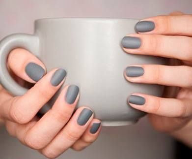 Grey nails. #nailart