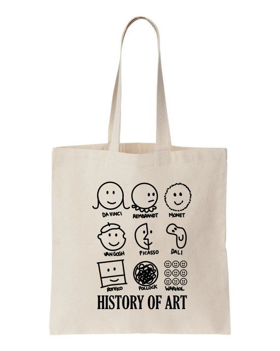 VAN GOGH COOL FUNNY SHOPPING CANVAS TOTE BAG IDEAL GIFT PRESENT