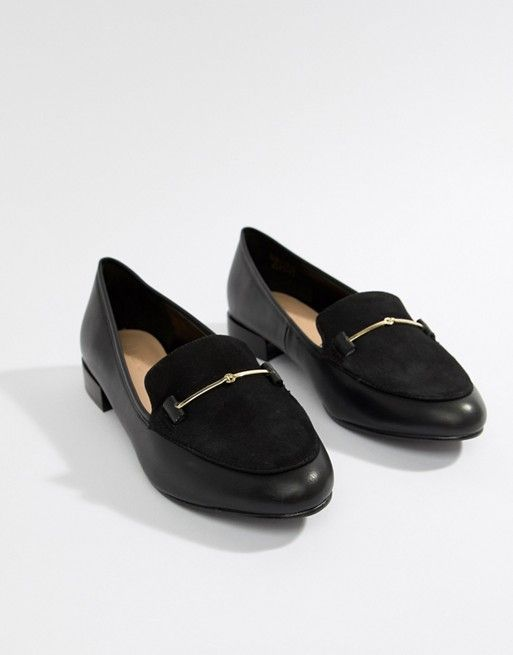 45b0f0237ca Aldo Flat Suede Mix Bar Loafer in 2019 | In home | Loafers, Fashion ...