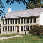 American General Philip Schuyler's country house was burned by the retreating British.  The restored home is part of the Saratoga National Historic Park.