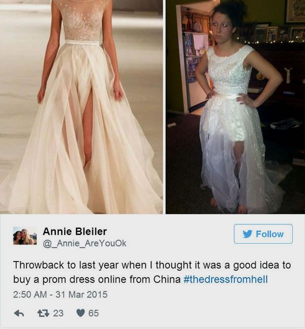 "Online shopping fails: Read the small print before you click ""buy"" #amazon #clothing #fail #fashion #funny #onlineshopping #shopping #shoppingfail"