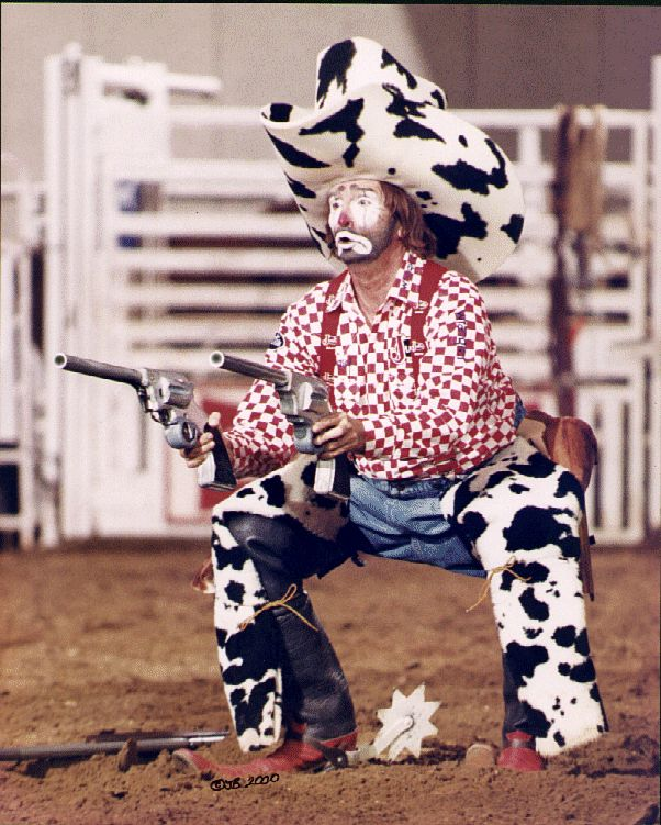 how to become a rodeo clown