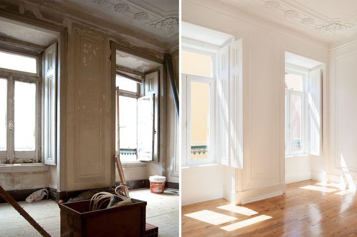 #refurbishment #before&after #twowindows #targa #atelier