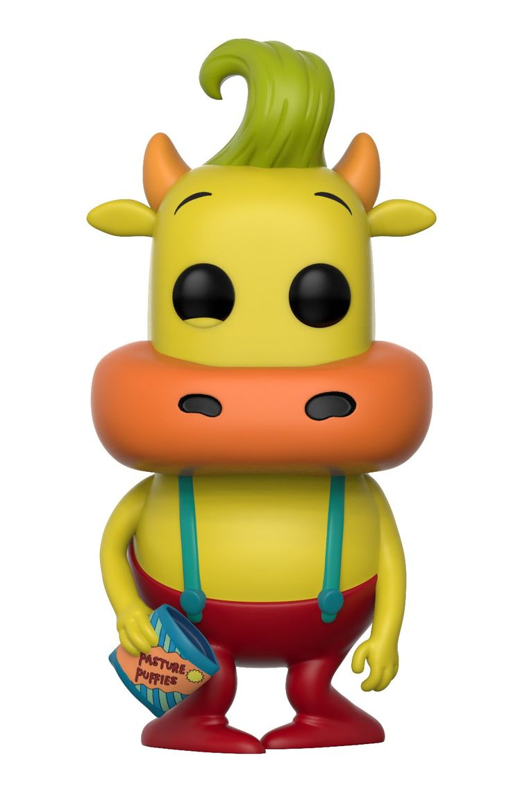 Funko Pop Television: Rocko's Modern Life-Heffer (Styles May Vary) Collectible Figure. From Rocko's Modern Life, Heffer (styles may vary), as a stylized POP vinyl from Funko!. Stylized collectable stands 3 ¾ inches tall, perfect for any Rocko's Modern Life fan!. Collect and display all Rocko's Modern Life POP! Vinyl's!.