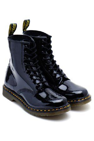 Dr. Martens - 8 eye - Black Patent