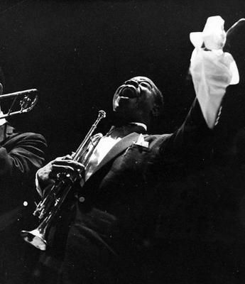 Louis Armstrong  by Kees Scherer