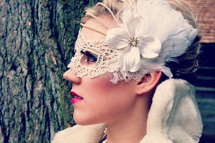 Dove Animal Mask created by: Alisa Ann Tetreault,  Clothing: Most Everything Vintage, Model: Bridgette Questad, Photographer: May Faith Photography, Hair: Ashley Rauch MUA: Kandie Smith  #dove #dovemask, #animalmask #creativephotoshoot #vancouverwashington #vintageclothing