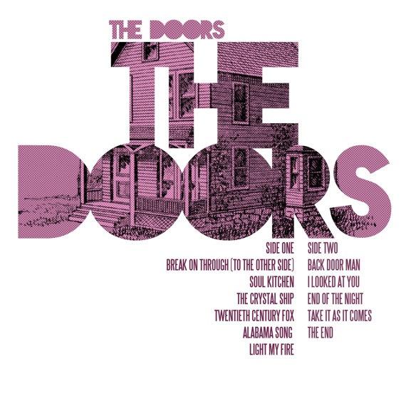 The Doors  The Doors / Album Cover Art LP Poster by Sixteen9, €10.00