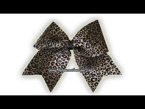 How To Make Cheer Hair Bows. I don't cheer but I love these bows!