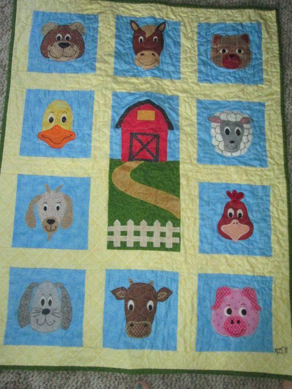 33 Best E I E I O Quilts Images On Pinterest Quilt