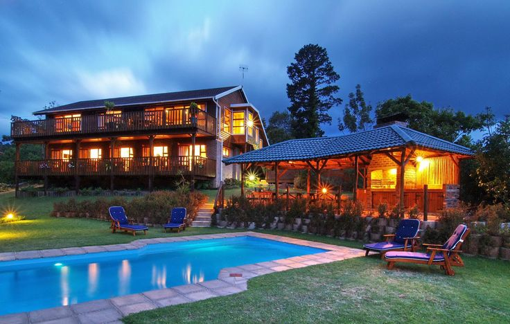 """In the heart of the Garden Route, nestled between the town of Knysna and the famous Knysna Heads, lies Pumula Lodge– """"the place of rest"""". 