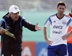 El equipo de quien es? Messi or Sabella. June 19, 2014