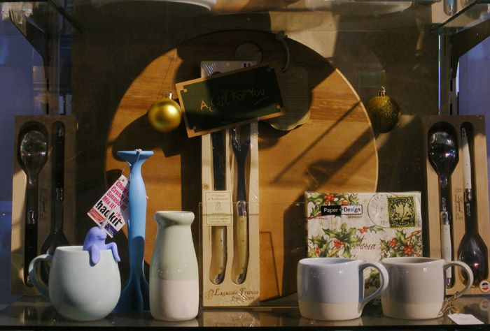 Robert Gordon ceramics  Client: London and American Supply Stores Display and Image: Patricia Denis