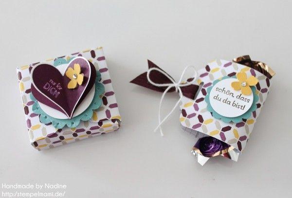 Anleitung Tutorial Stampin Up Envelope Punch Board Box Goodie 073