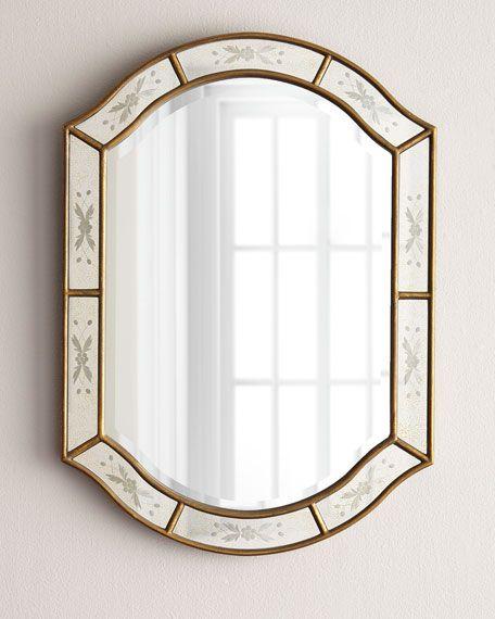 Bath 215 Etched Mirror