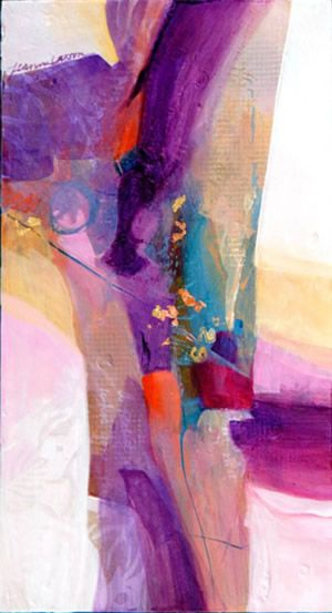Famous Watercolor Artist | Jeanne Larson | Gallery | Abstract Paintings