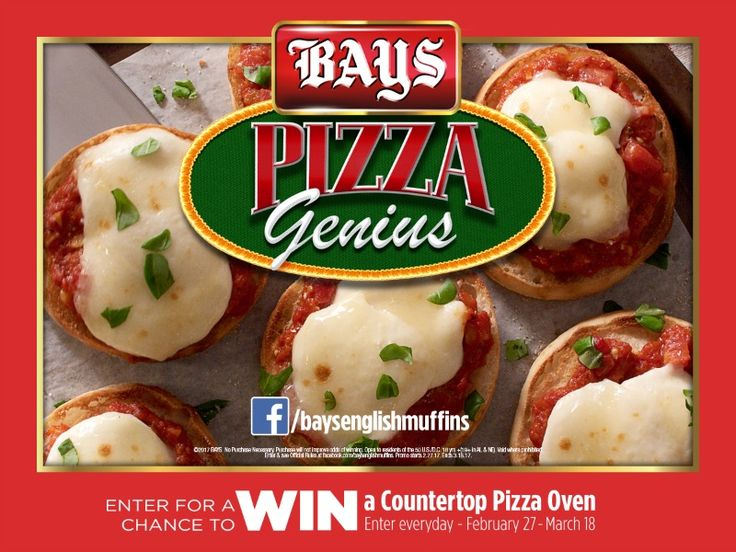 Pizza Genius Wanted from Bays English Muffins - Could it be you? #ad