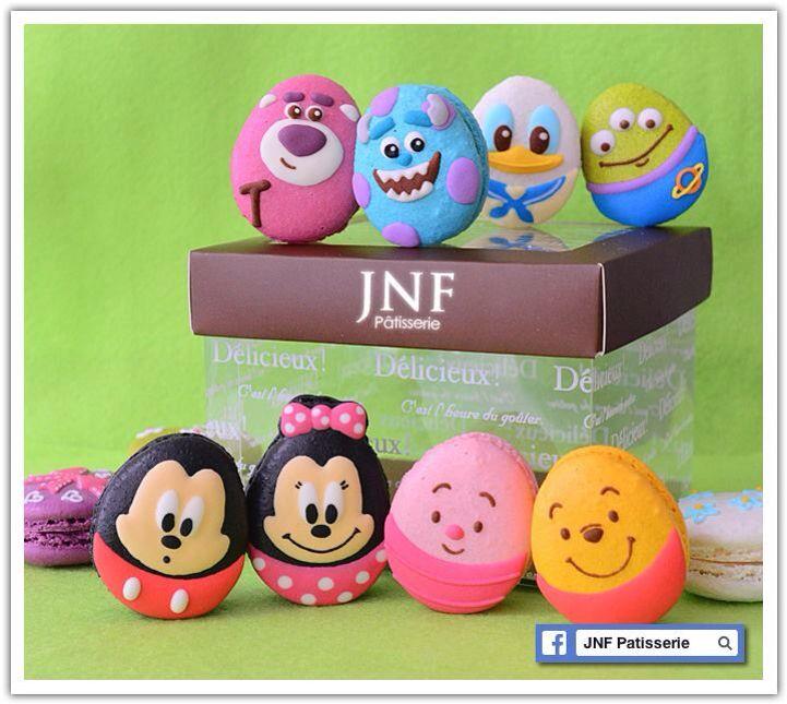Easter Idea Egg Macaron Disney