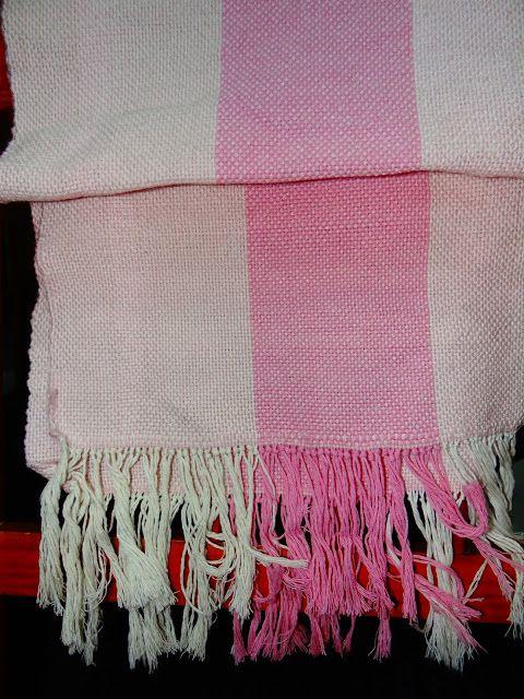 Tejidos del Campo: Echarpe liso en lana-mezcla