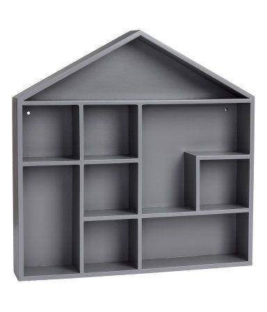 en husformad hylla i m lad mdf hyllan har f rborrade h l f r upph ngning skruvar medf ljer ej. Black Bedroom Furniture Sets. Home Design Ideas