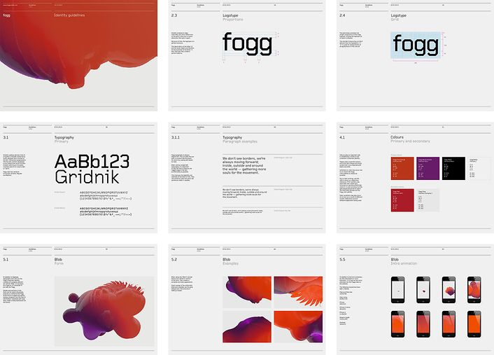Brand guidelines http://www.bunchdesign.com/projects/fogg-p227.htm?client=151