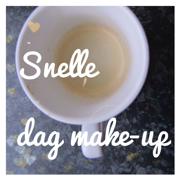 snelle dag make-up