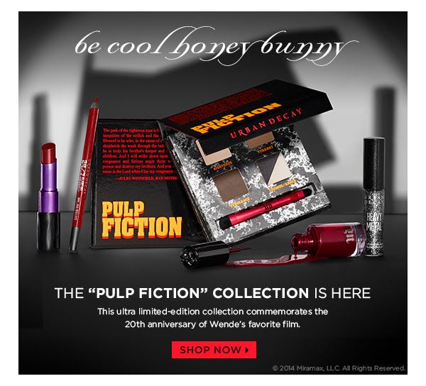be cool, honey bunny. The 'PULP FICTION' Collection is here.