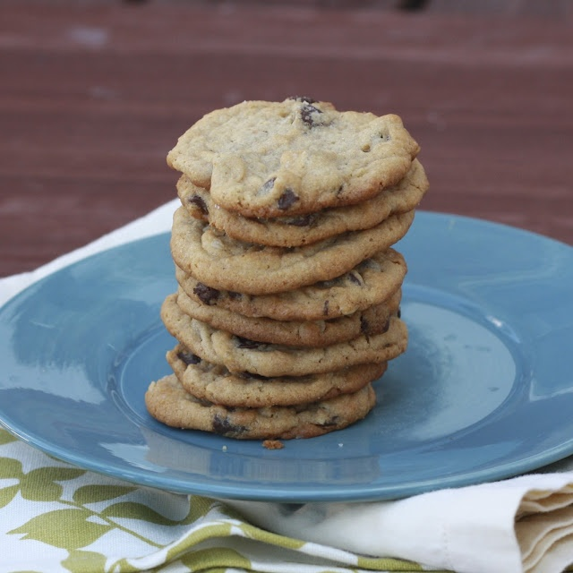 Peanut Butter Chocolate Chip Oatmeal Cookies with Sea Salt - I don't ...