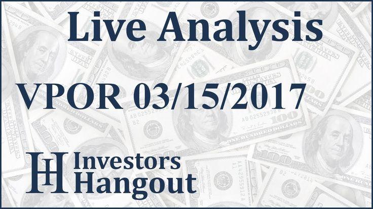 $VPOR Stock Live Analysis 03-15-2017 Vapor Group Inc. (VPOR): $VPOR Stock Live Analysis 03-15-2017 Vapor Group Inc. (VPOR)