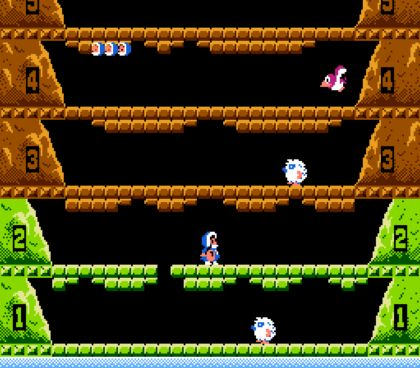 Игра Ice Climber для NES / Dendy (обзор и прохождение)