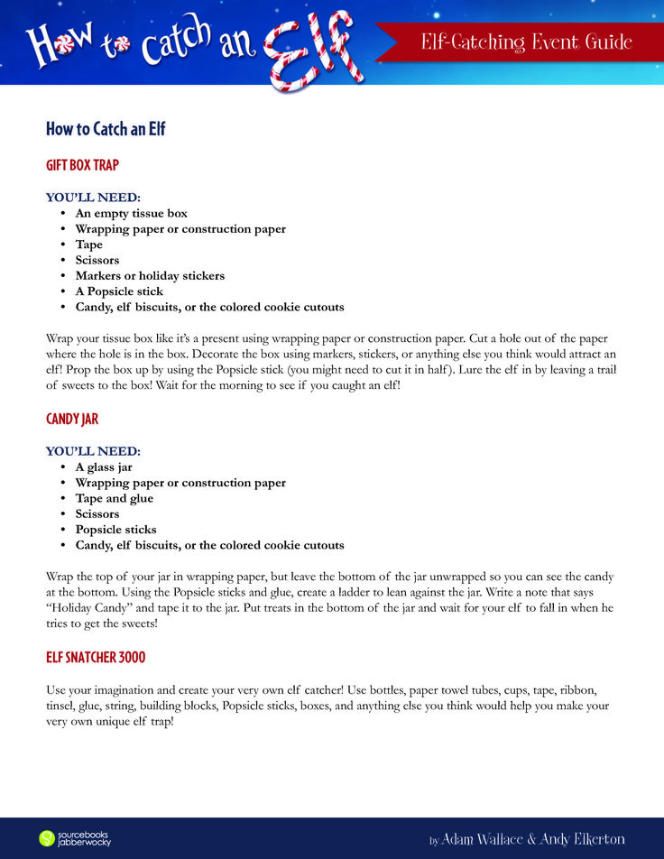7 best How to Catch an Elf images on Pinterest Elves, Elf and - colored writing paper