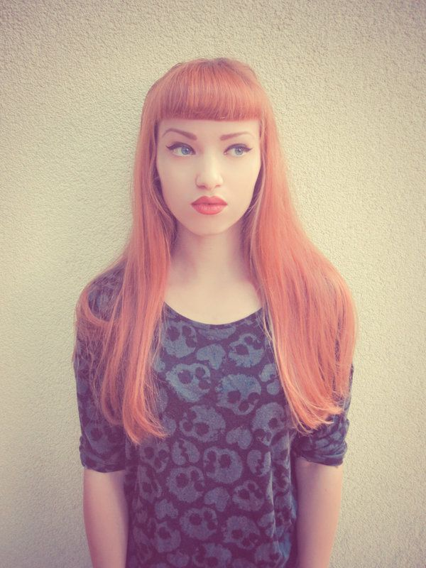 Retro Love by Miss-Bo on deviantART - Redhead - Red Hair Love - Bangs