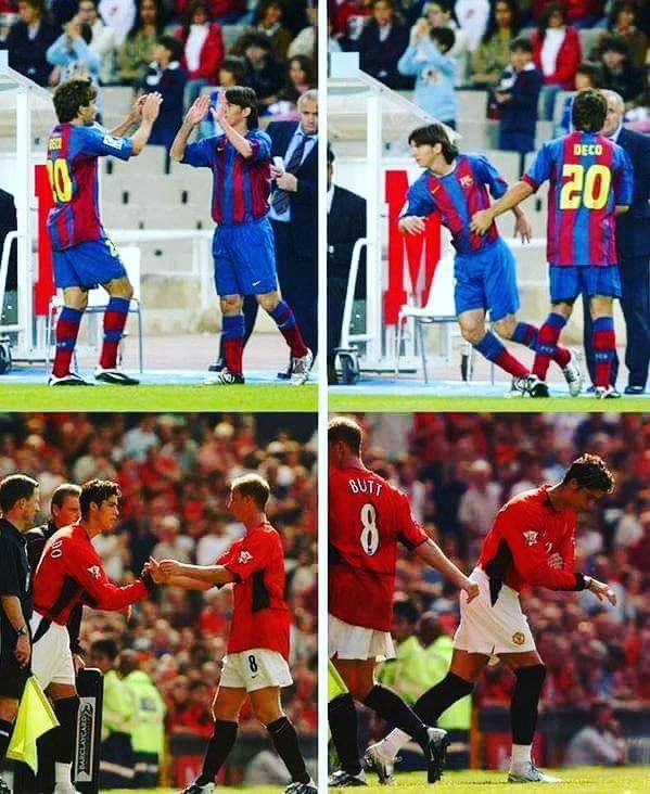 These 2 moments changed football history. :) #soccer24x7