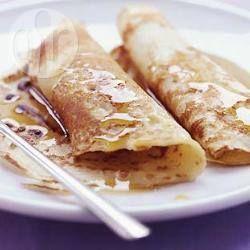 Masa básica para panqueques dulces o salados @ allrecipes.com.ar