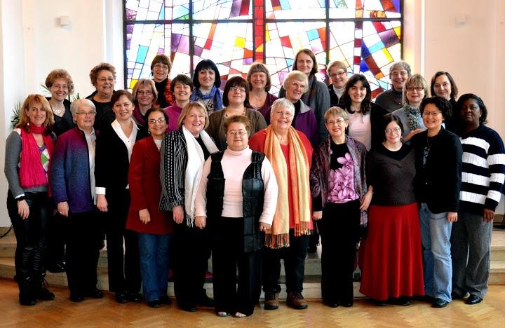 European/Eurasian UM Clergywomen's Consultation in Braunfels, Germany, February 12-15, 2012