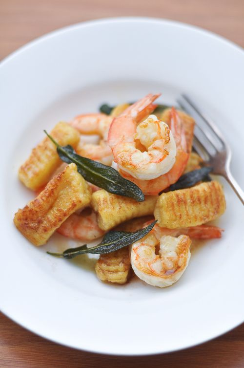 Maggie Beer's Potato Gnocchi with Prawns