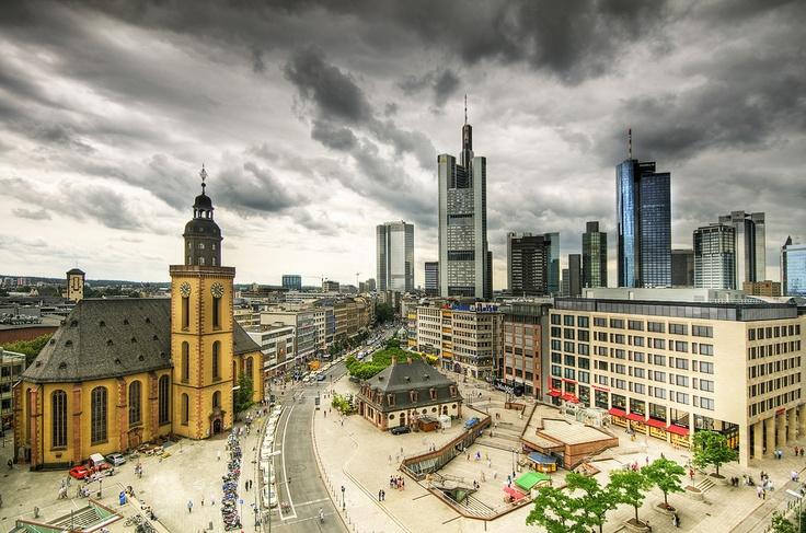 Hauptwache, Frankfurt am Main, Germany