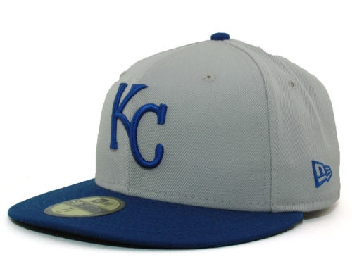 Kansas City Royals New Era MLB Cooperstown 59FIFTY Hats 7 5/8