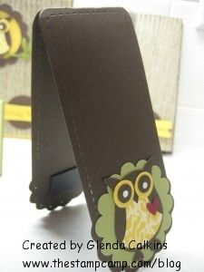 Owl punch bookmark