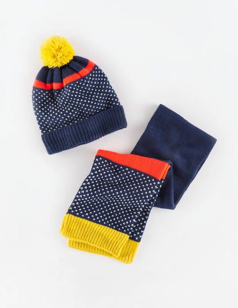 Knitted Hat & Scarf Set 51002 Hats, Scarves & Gloves at Boden