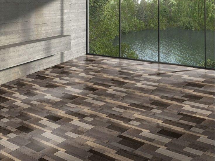 WOODEN PATCHWORK ZVĚTRALÝ - Parador Eco Balance 7-32 - laminátová plovoucí podlaha
