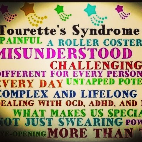 tics tourettes syndrome Tourette's syndrome is a disorder that involves various physical tics and at least one vocal tic a few people with tourette's unintentionally utter inappropriate or obscene words a tic is an unusual movement or sound that a person has little or no control over it may include eye blinking.