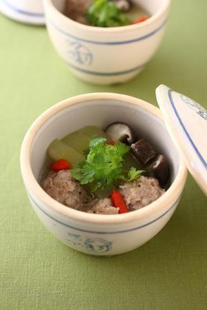 冬瓜肉丸湯(とうがんと肉だんごのスープ) | パン ウェイさんのレシピ ...