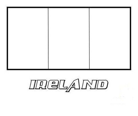 Coloring Page Base Flag Coloring Pages Coloring Pages Irish Flag