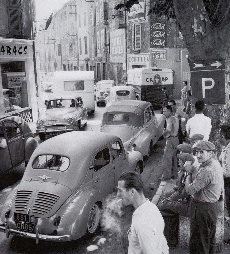 nationale 7 départ de vacances A 1957
