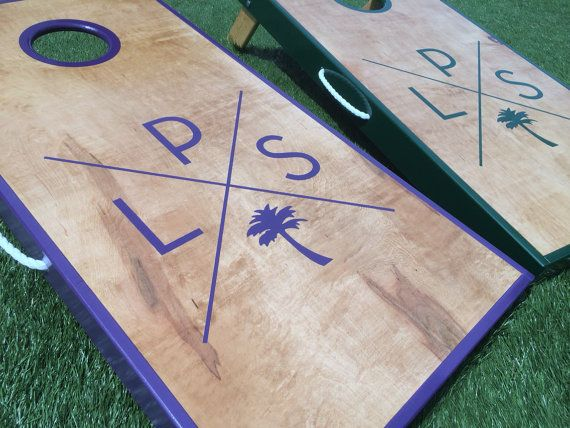 Wedding Cornhole Board Set On Etsy